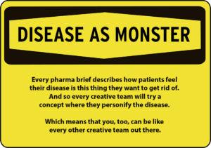 disease-as-monster-sign